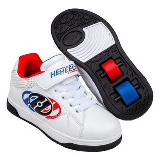Heelys Swerve X2 White / Blue / Red