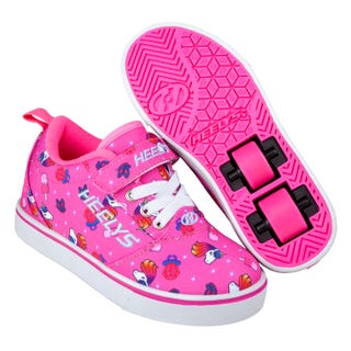 Heelys Pro 20 X2 Pink/Hot Pink/Unicorns