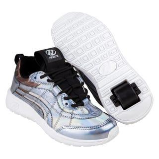Schuhe mit Rollen Heelys Nitro Silber Hologramm / Schwarz