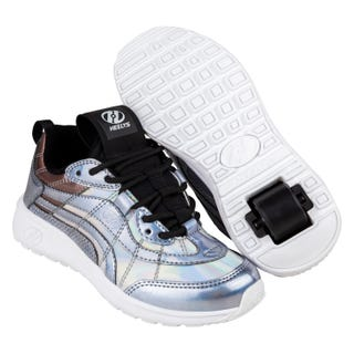 Heelys Nitro Silver Hologram / Black for Adults