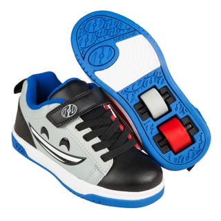 Heelys Dual Up X2 Black/Red/Blue Mad Happy