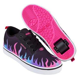 Heelys Pro 20 Sort / Neon Pink / Hologram Flammer