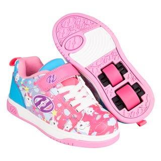 Heelys Dual Up X2 Neon Pink/Lila/Einhorn