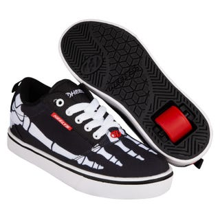 Heelys Pro 20 Prints - Black / White / Red / Skeleton