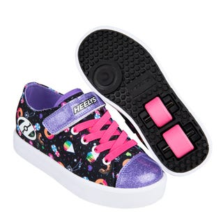 Heelys Snazzy X2 Black / Rainbow / Sweets / Candy