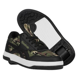 Reebok X Heelys CL Court Low Black / Capulet Olive / Safari