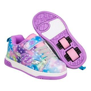 Heelys Dual Up X2 Purple / Rainbow Wings