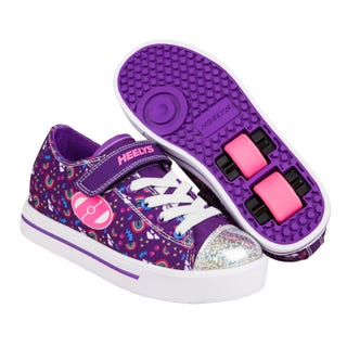 Heelys Snazzy Purple/Multi/Rainbow
