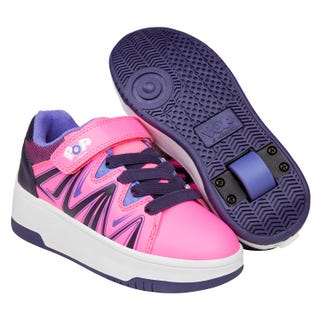 Turnschuhe mit rollen - POP von Heelys! Burst Pink/ Lila/ Blau