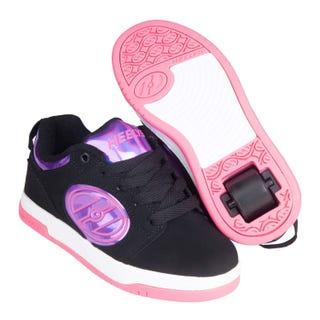 Heelys Voyager Black/Purple/Hologram/Hot Pink