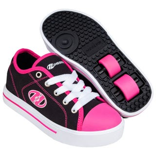 Sneakers with Wheels - Heelys Classic X2 Black / White / Hot Pink
