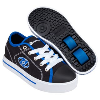 Sneakers with Wheels - Heelys Classic X2 Black / White / Blue