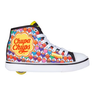 Heelys Adult Chupa Chups - Veloz Black/White/Yellow/Multi