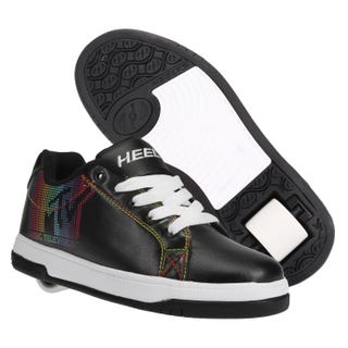 Heelys MTV Adults Split Black/White/Rainbow PU