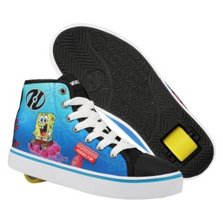 Heelys SpongeBob SquarePants Adults Black/White/Multi/Canvas