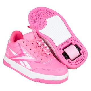 Heelys x Reebok CL Court Low Rosa / Hell-Pink / Weiss