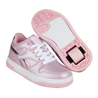 Reebok X Heelys BB4500 Low Adults White/Classic Pink/Sparkle