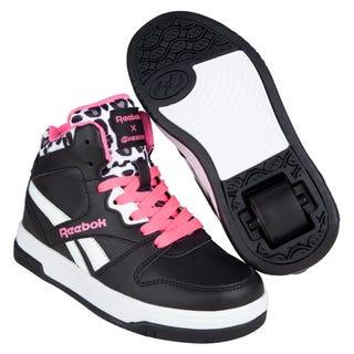 Reebok X Heelys BB4500 Mid Black / Solar Pink / White