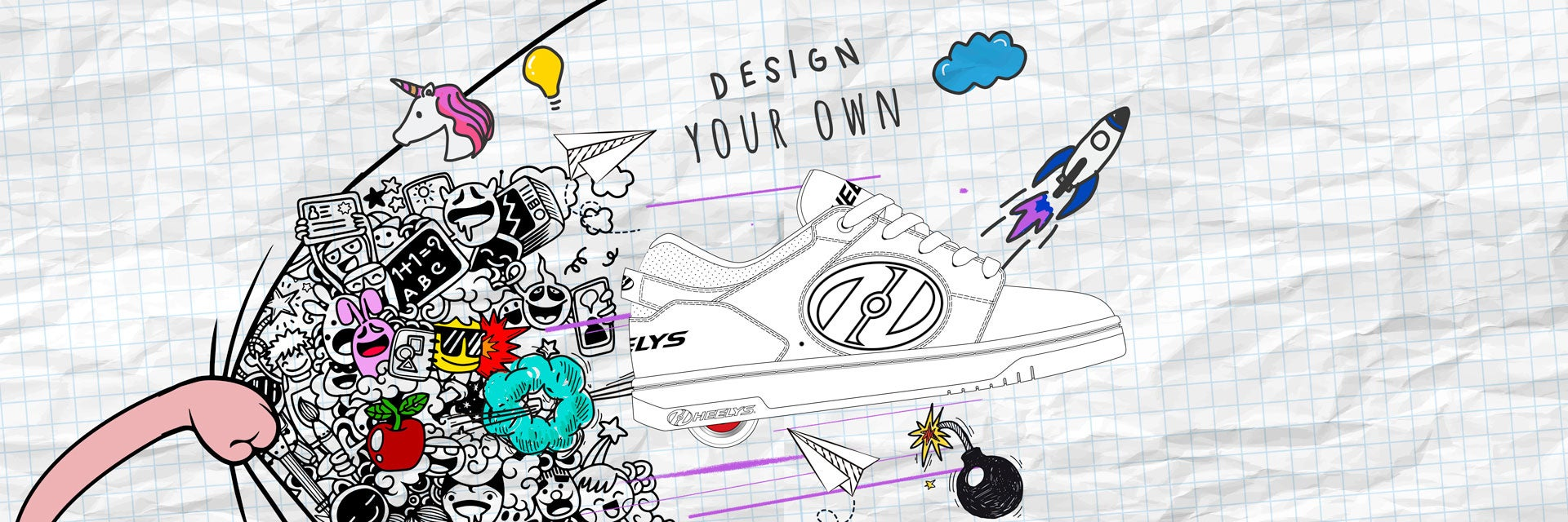 Heelys at Home - Design Your Own